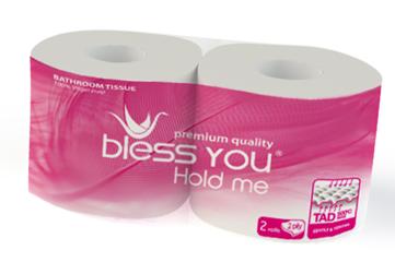 Giấy vệ sinh Bless You 100 cuộn/bành