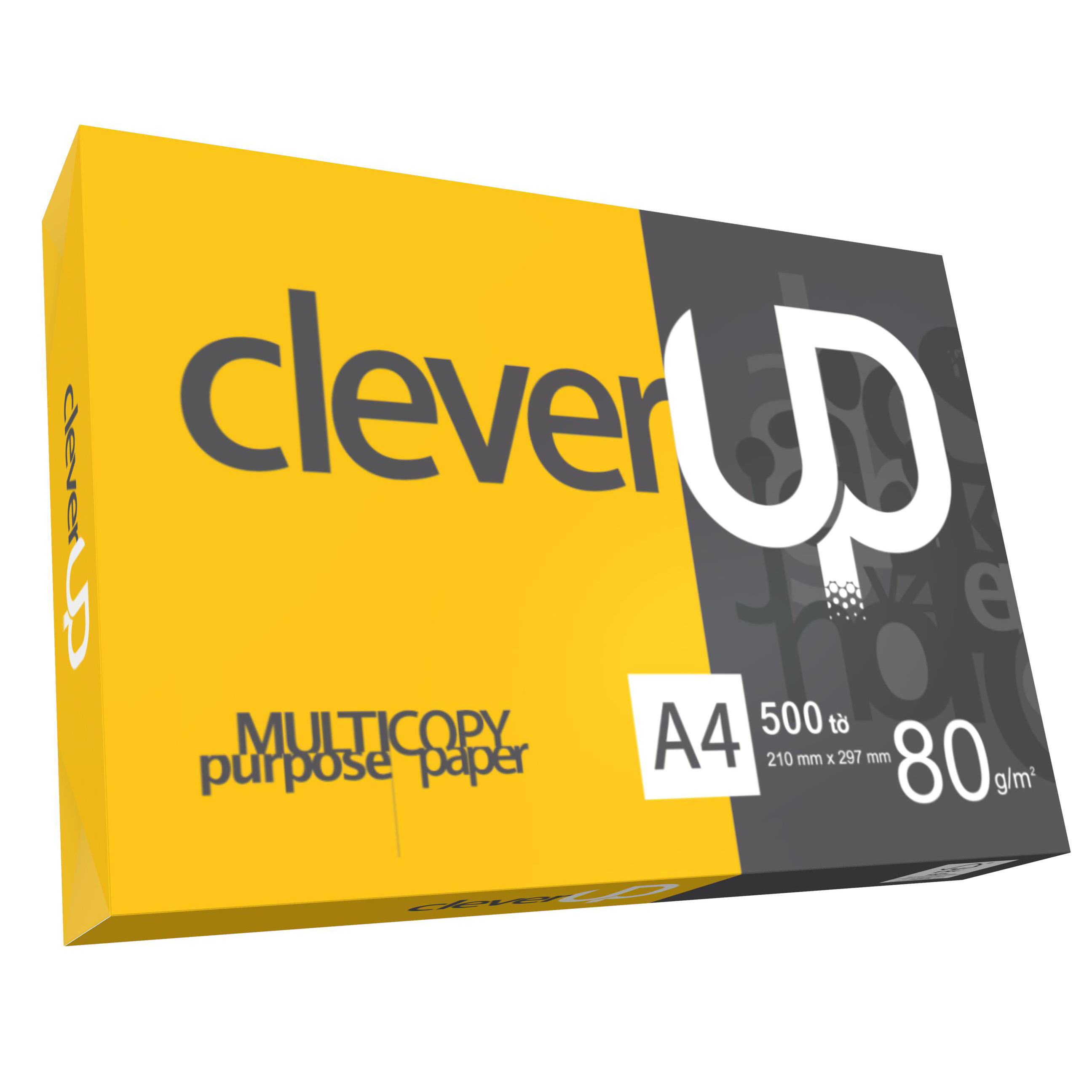 Giấy A4 Clever Up 80