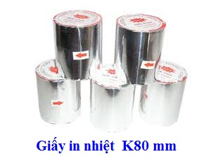 Giấy in nhiệt khổ 80mm