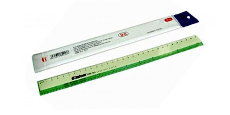 Thước cứng Thiên Long 30cm